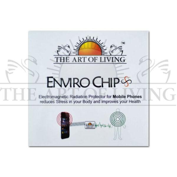 Чип за предпазване от електромагнитни лъчи (Enviro chip) - бял