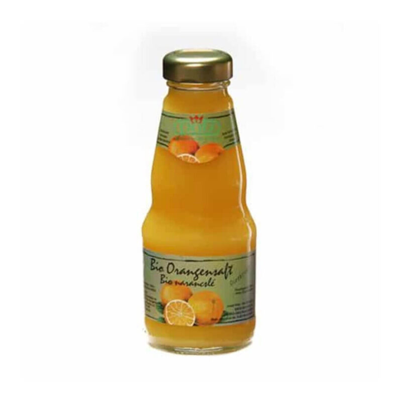 Био натурален сок 100% Портокал 200 мл.