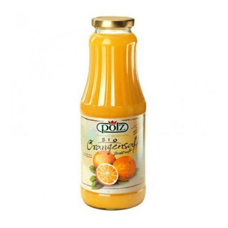 Био натурален сок 100% Портокал 1 л.