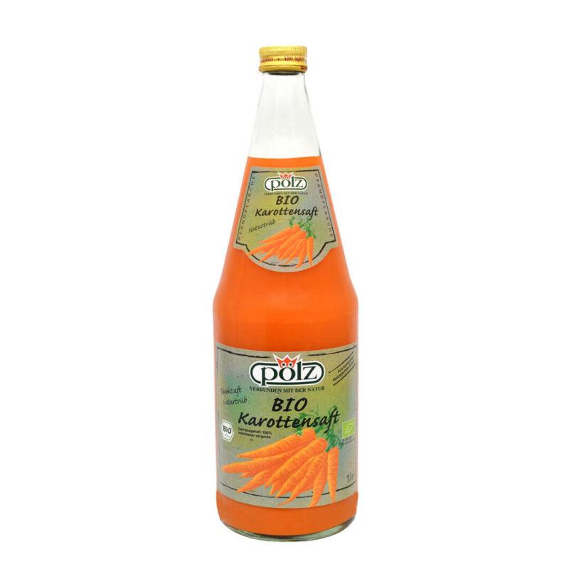 Био Натурален Сок 100% Моркови 1 л.