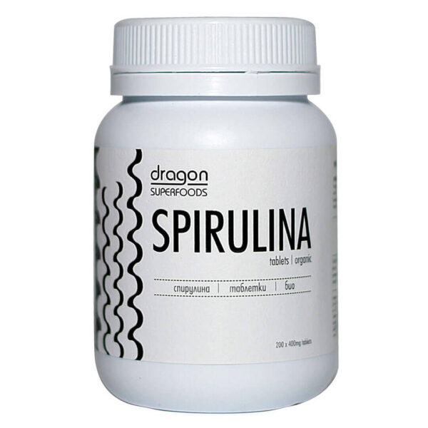 Био Спирулина 200 таблетки по 400 мг. Dragon