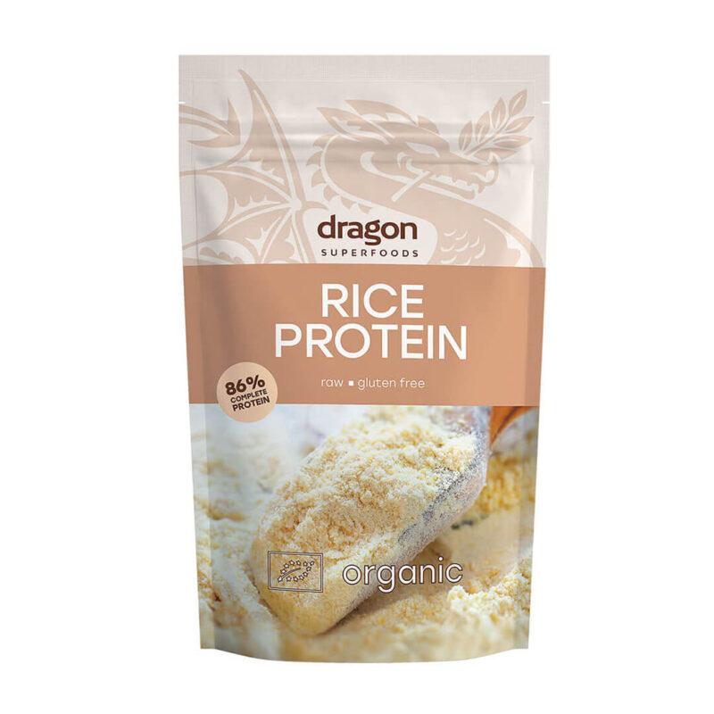 Био Оризов Протеин (83 % Протеин) 200 г .Dragon