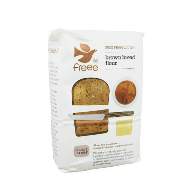 Брашно за Черен Хляб БЕЗ ГЛУТЕН 1 кг.