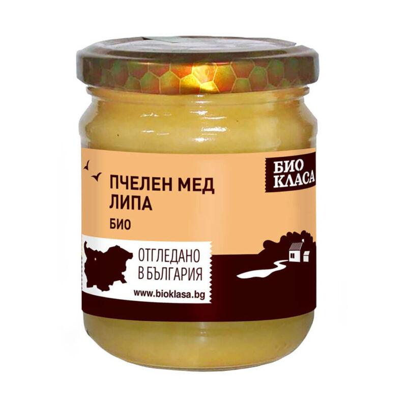 Био Пчелен мед Липа 500 г.