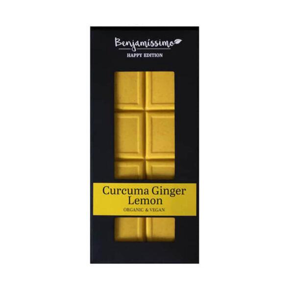 Био веган какаов десерт Curcuma Ginger Lemon