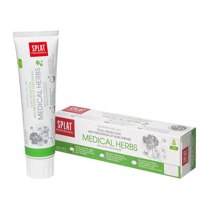 Паста за зъби срещу парадонтоза 100мл Splat Medical herbs