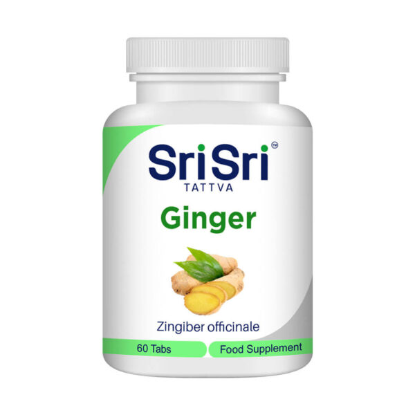 Ginger 60 tablets of 500 mg.