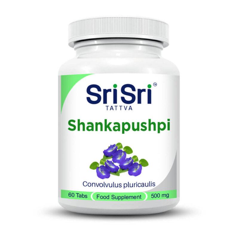 Shankapushpi 60 tablets of 500 mg.
