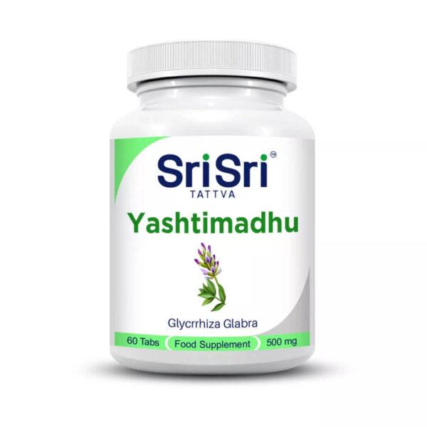 Ястимаду (Yasthimadhu) 60 таблетки по 500 мг.
