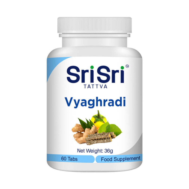 Вягряади (Vyaghradi) 60таблетки по 500 мг.